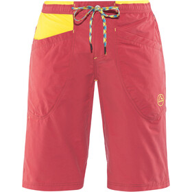 La Sportiva Leader Shorts Herre cardinal red/lemonade